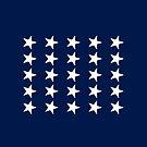 25-Star American Flag, Arkansas, Evry Heart Beats True by EvryHeart