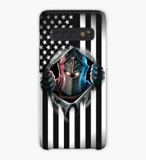 Black Knight American Flag Version 2 Case/Skin for Samsung Galaxy