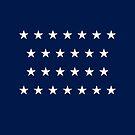 26-Star American Flag, Michigan, Evry Heart Beats True by EvryHeart