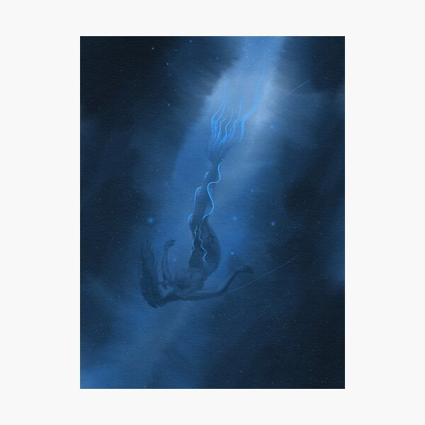 I Was up All Night Trying to Stop 2018 MerMay Painting Photographic Print