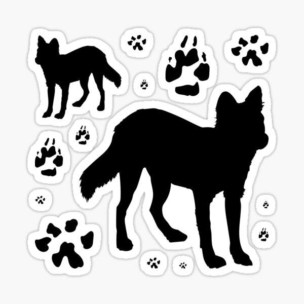 Dhole Sticker