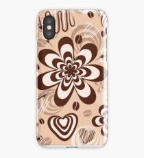 Chocolate cream and coffee iPhone Case/Skin