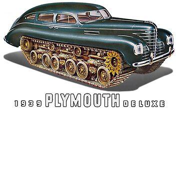 1939 Plymouth by BorleyB