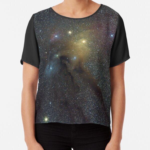 The Star Clouds of Rho Ophiuchi Chiffon Top