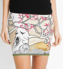 House of Ghibli Mini Skirt