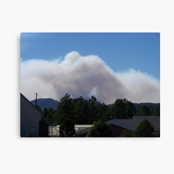 Fire Cloud Canvas Print