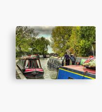 Pied Piper At Braunston Canvas Print