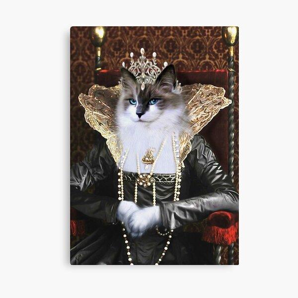 Cat Portrait - Skyler Canvas Print