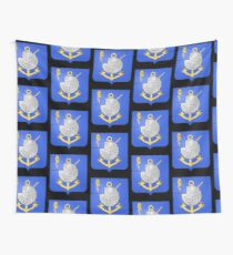 French France Coat of Arms 17377 Blason Louis Antoine de Bougainville Wall Tapestry