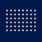 48-Star American Flag, Arizona, Evry Heart Beats True by EvryHeart