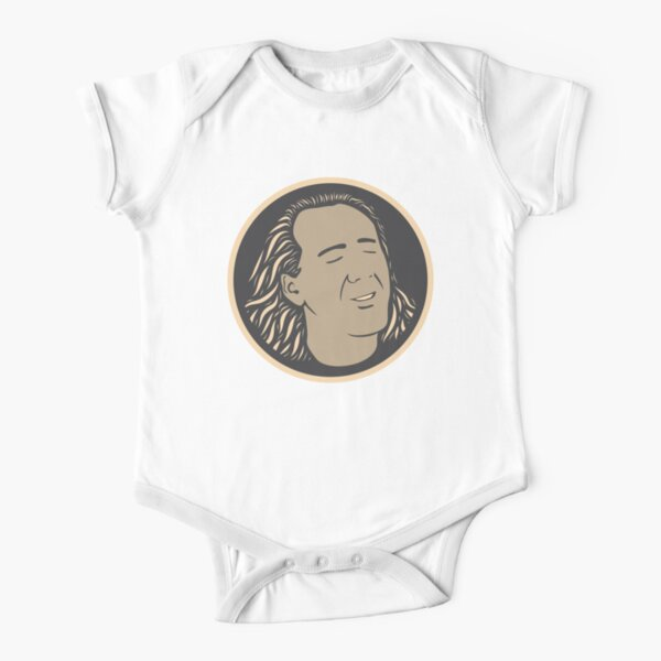 Con Air Nicolas Cage Short Sleeve Baby One-Piece