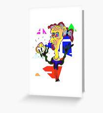 The BlingRingThing Greeting Card