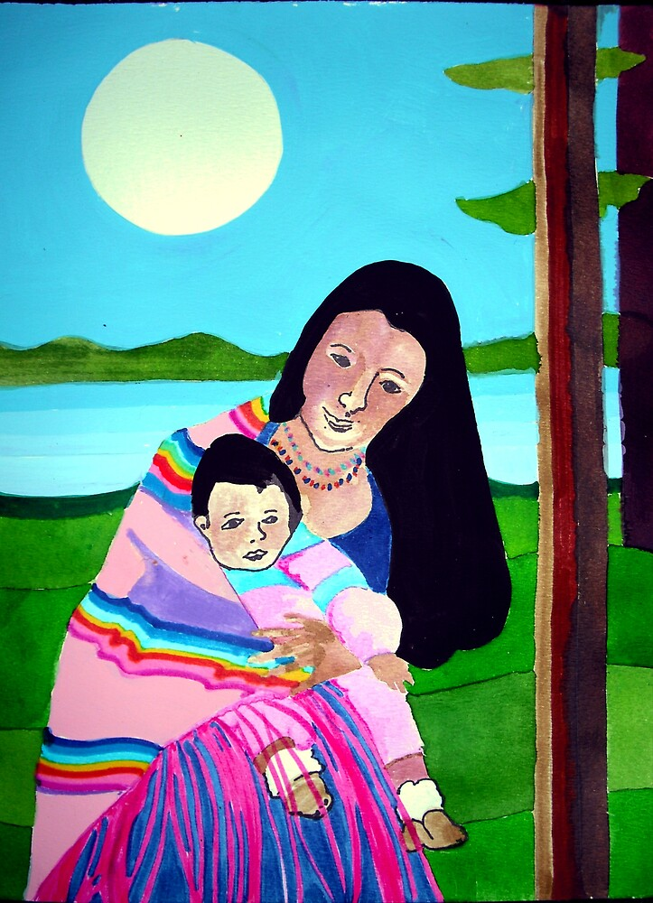 Mother and Child III by Jamie Winter-Schira