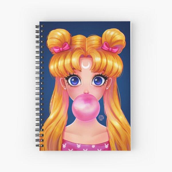 Bubblegum Usagi Spiral Notebook