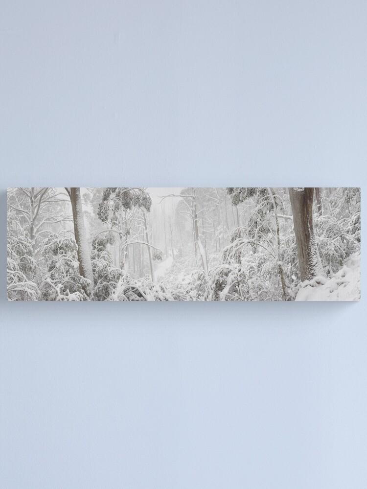Alternate view of Snowy Trees, Alpine National Park, Victoria, Australia Canvas Print