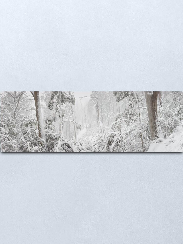 Alternate view of Snowy Trees, Alpine National Park, Victoria, Australia Metal Print