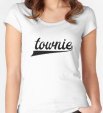 Townie - Show your townie pride - Newfoundland Women's Fitted Scoop T-Shirt