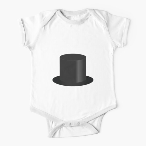 Top Hat Short Sleeve Baby One-Piece