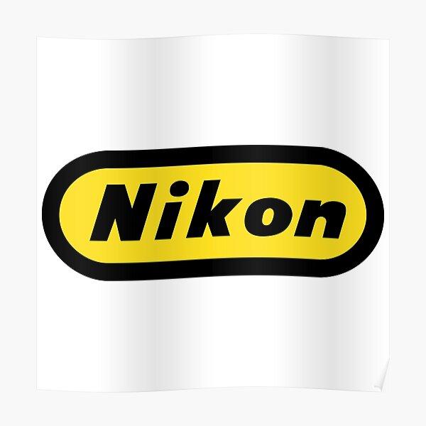 Classic Nikon Tribute Logo - Circa 1965 Poster