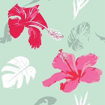 I Love Hibiscus by Rosedoggz