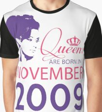 It's My Birthday 9. Made In November 2009. 2009 Gift Ideas. Graphic T-Shirt