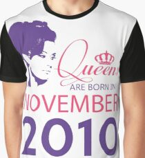 It's My Birthday 8. Made In November 2010. 2010 Gift Ideas. Graphic T-Shirt