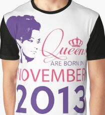 It's My Birthday 5. Made In November 2013. 2013 Gift Ideas. Graphic T-Shirt