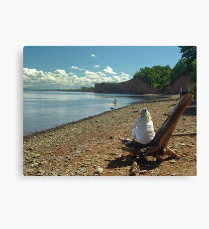 Cape Blomidon Beach Canvas Print