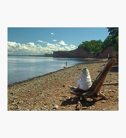 Cape Blomidon Beach Photographic Print
