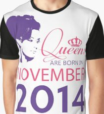 It's My Birthday 4. Made In November 2014. 2014 Gift Ideas. Graphic T-Shirt