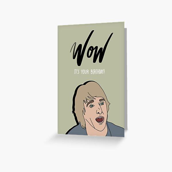 Owen Wilson Greeting Cards