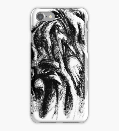 Touching Hands iPhone Case/Skin