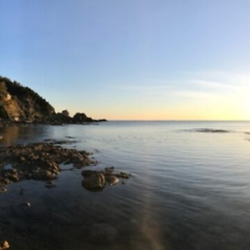 Castiglioncello Panorama at Sunset by xavier