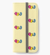 LGBTQA+ Cats - Pansexual iPhone Wallet/Case/Skin