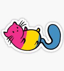LGBTQA+ Cats - Pansexual Sticker