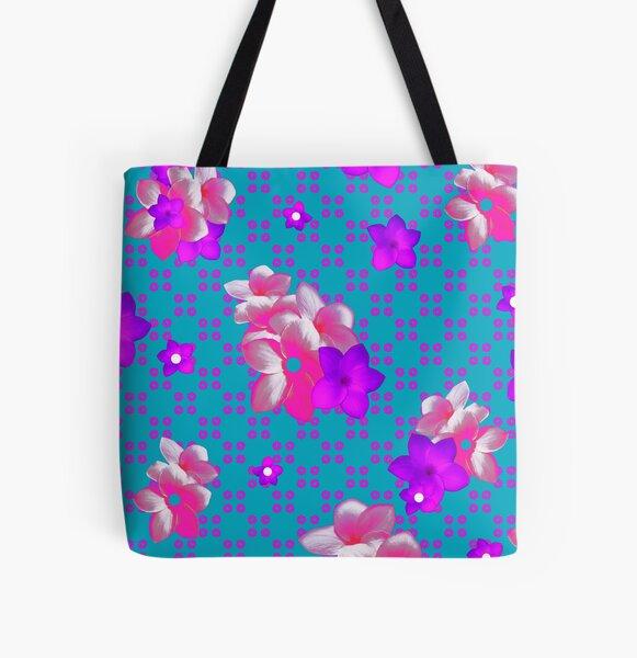 NICE BEACH Clique All Over Print Tote Bag