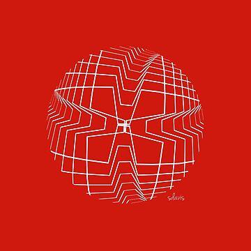 Kinetic Art Orbit Ball 10418 by mandalafractal