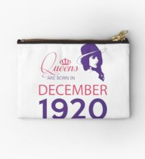 It's My Birthday 98. Made In December 1920. 1920 Gift Ideas. Studio Pouch
