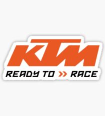 ktm race Sticker
