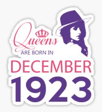 It's My Birthday 95. Made In December 1923. 1923 Gift Ideas. Sticker