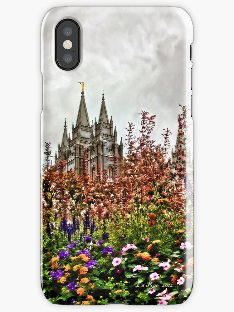 Castle Temple i phone Case by LaRae55