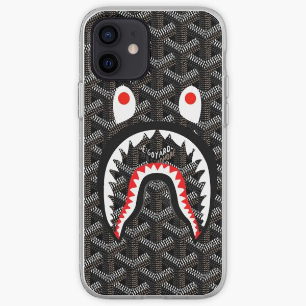 Bape Shark Black iPhone Soft Case