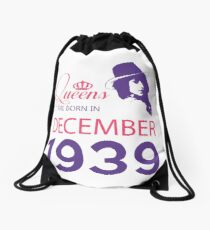 It's My Birthday 79. Made In December 1939. 1939 Gift Ideas. Drawstring Bag