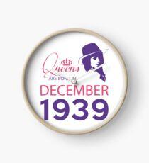 It's My Birthday 79. Made In December 1939. 1939 Gift Ideas. Clock