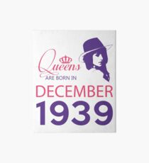 It's My Birthday 79. Made In December 1939. 1939 Gift Ideas. Art Board