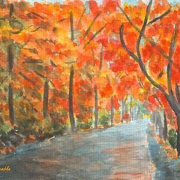 Golden October by CarolineLembke