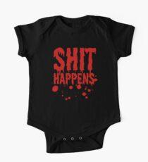 Scheiße passiert ... Baby Body Kurzarm