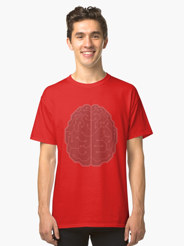BRAINS! Classic T-Shirt Front