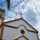 Spanish church by Dave McBride