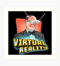 Virtual Reality Art Print